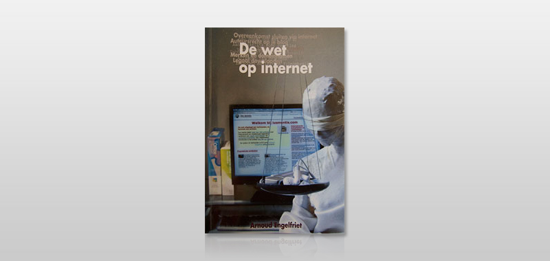 Omslag 'De wet op internet'.